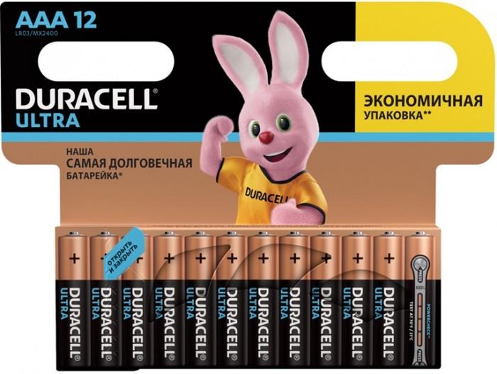 Duracell Батарейка алкалиновая UltraPower AAА (LR03) 12 шт.