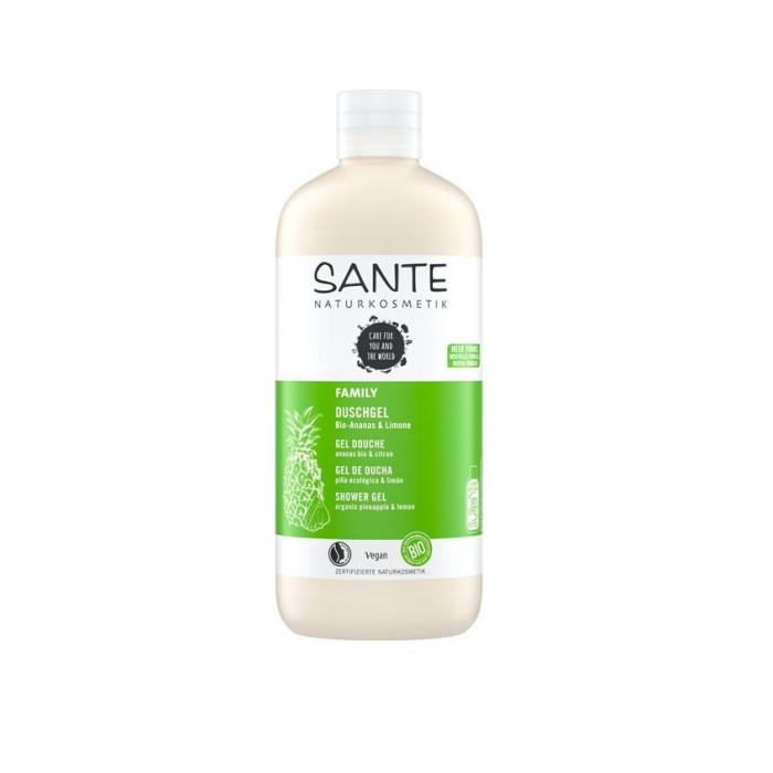 Sante Family Шампунь для укрепления и блеска волос с био-апельсином и кокосом 500 мл