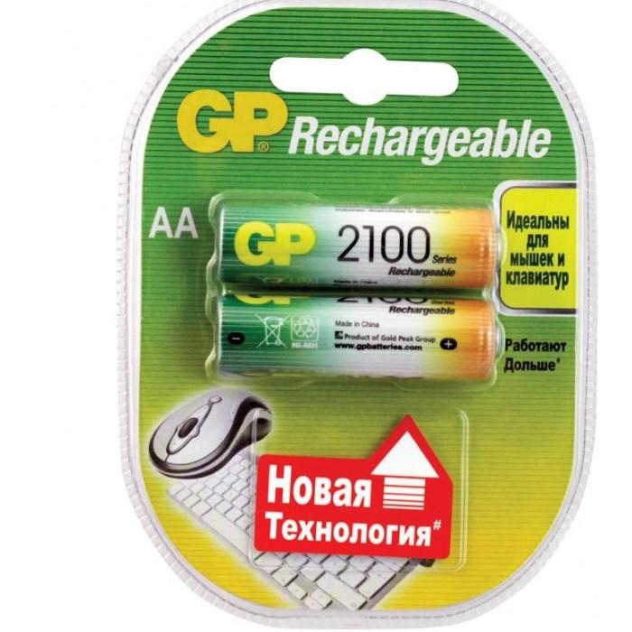 GP Аккумулятор AA (HR06) 2100mAh 2 шт.