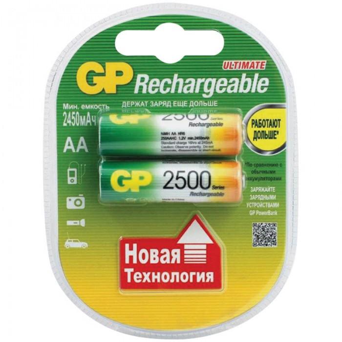 GP Аккумулятор AA (HR06) 2700mAh 4 шт.