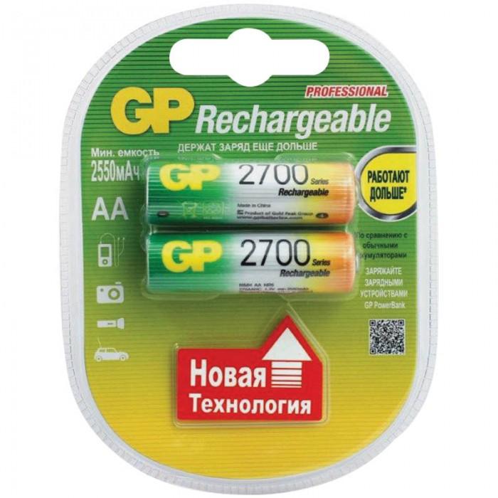 Картинка для GP Аккумулятор AA (HR06) 2700mAh 2 шт.