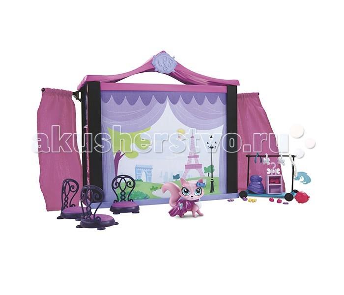 Littlest Pet Shop Игровой набор Стильный подиум для показа мод
