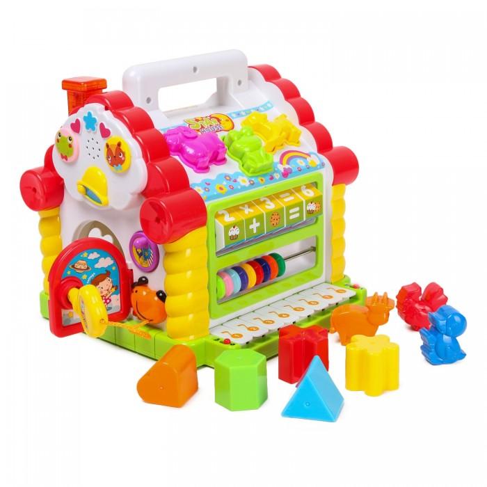 Развивающая игрушка Hola Домик-сортер