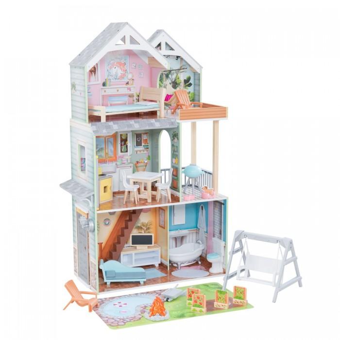 KidKraft Кукольный домик Ава с мебелью (10 элементов)