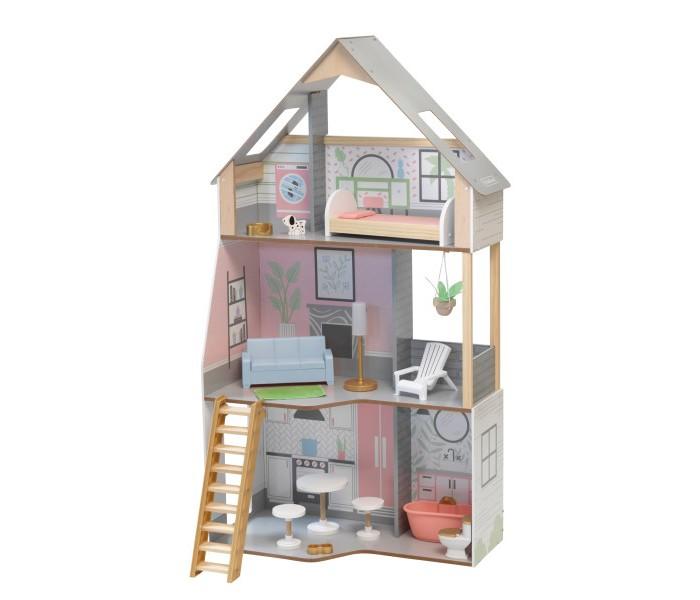 KidKraft Кукольный домик Розовый Замок