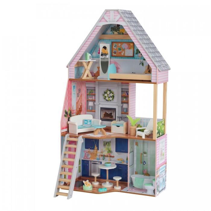 KidKraft Кукольный домик Дотти интерактивный с мебелью (17 элементов)