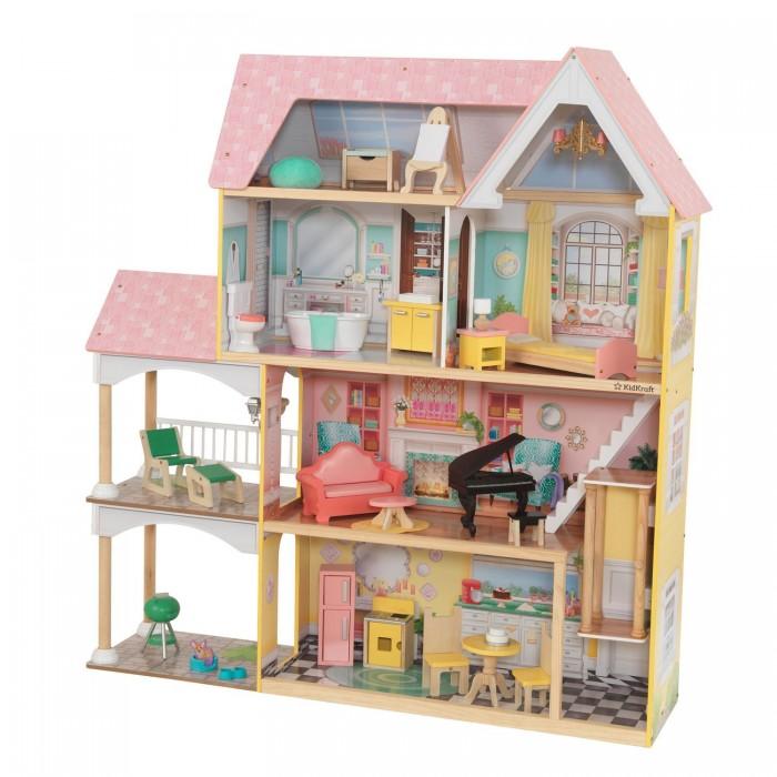 KidKraft Кукольный домик Матильда с мебелью (23 элемента)
