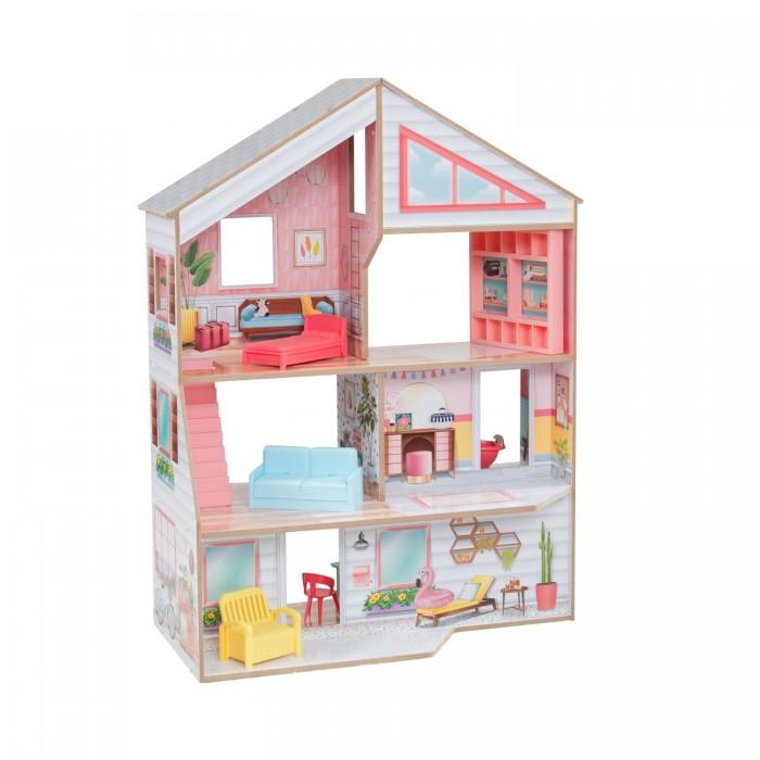 KidKraft Кукольный домик Чарли с мебелью (10 элементов)