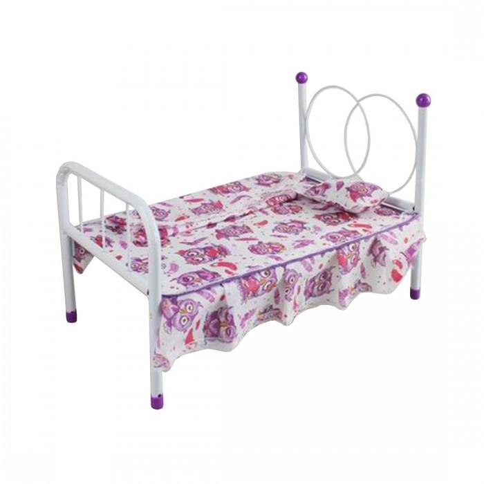 Кроватка для куклы Наша Игрушка Мишка M0610-12