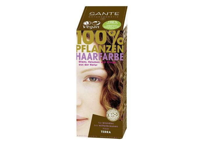 Sante Растительная краска для волос Черный