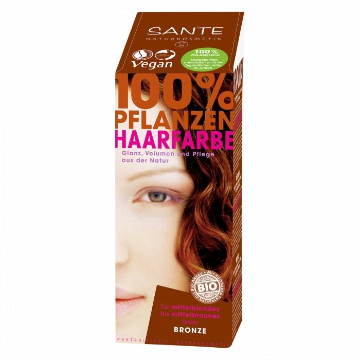 Sante Растительная краска для волос Натуральный рыжий 100 г