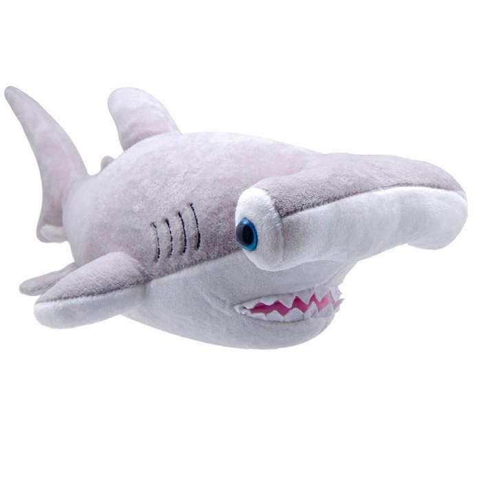 Мягкая игрушка All About Nature Акула-молот 25 см