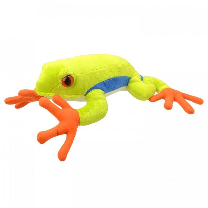 Мягкая игрушка All About Nature Древесная лягушка 25 см