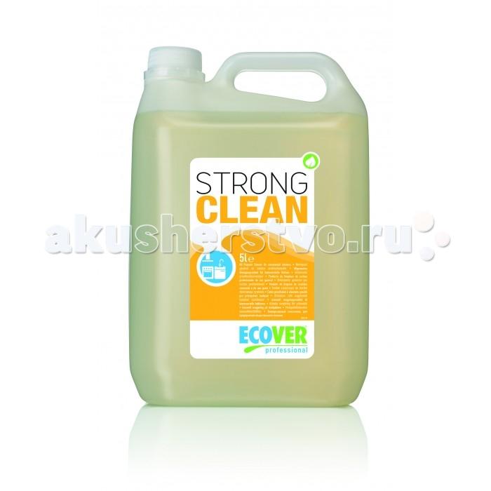 Бытовая химия Ecover Strong clean Щелочной очиститель и обезжириватель 5 л гриф mb barbell z образный d 50 мм замок стопорный