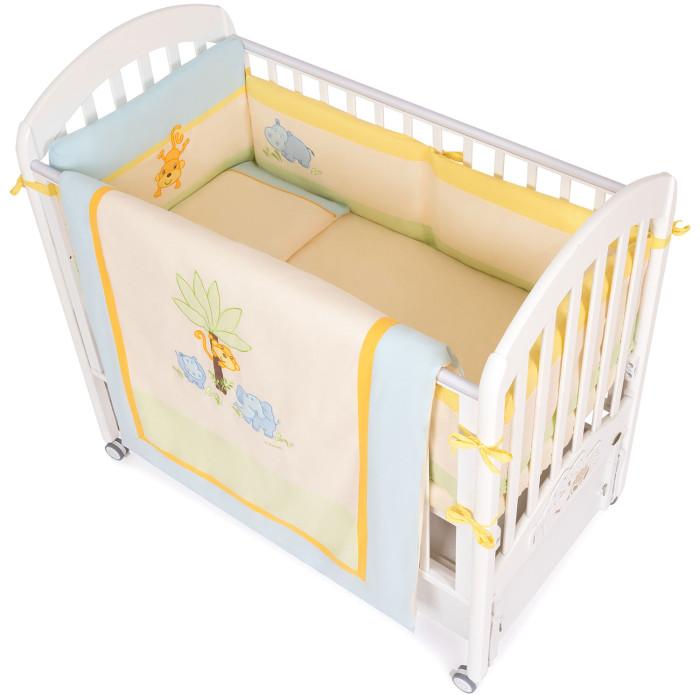 Картинка для Комплект в кроватку Feretti Jungle Sestetto Long (6 предметов)