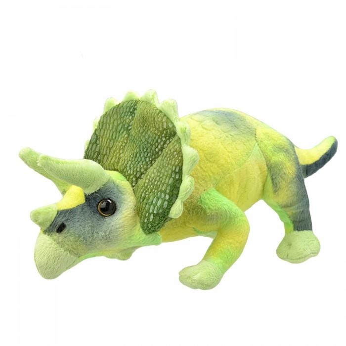 Мягкая игрушка All About Nature Трицератопс 25 см
