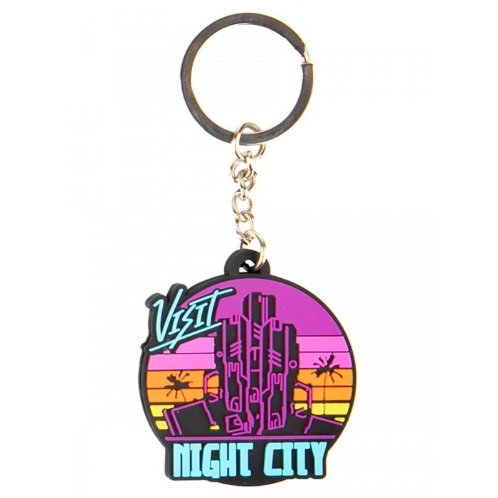 Купить Игровые фигурки, Cyberpunk Брелок 2077 Visit Night City