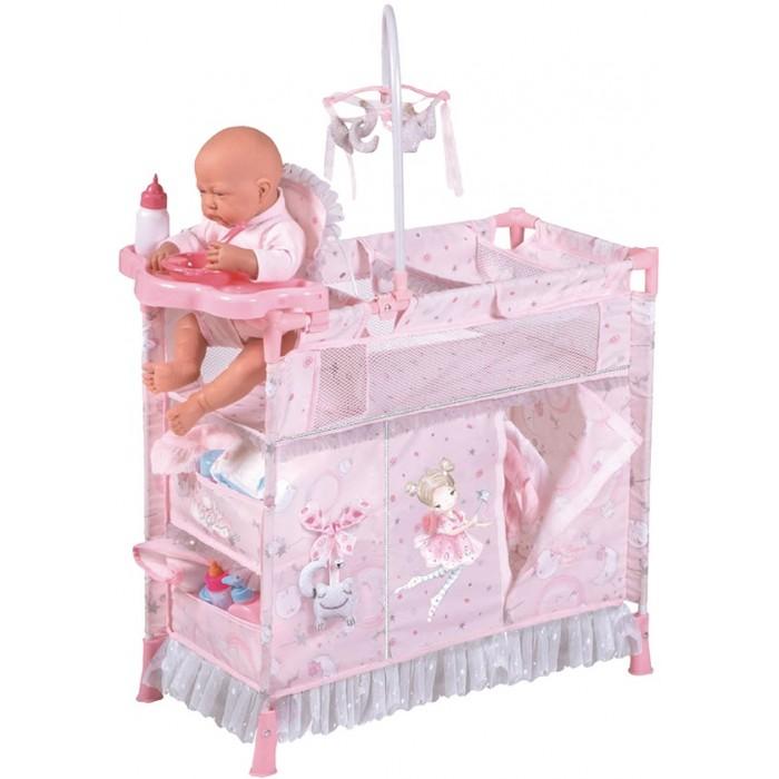 DeCuevas Манеж-игровой центр для куклы с аксессуарами Скай 70 см