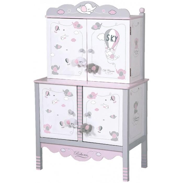 DeCuevas Гардеробный шкаф для куклы Скай 54 см 54035