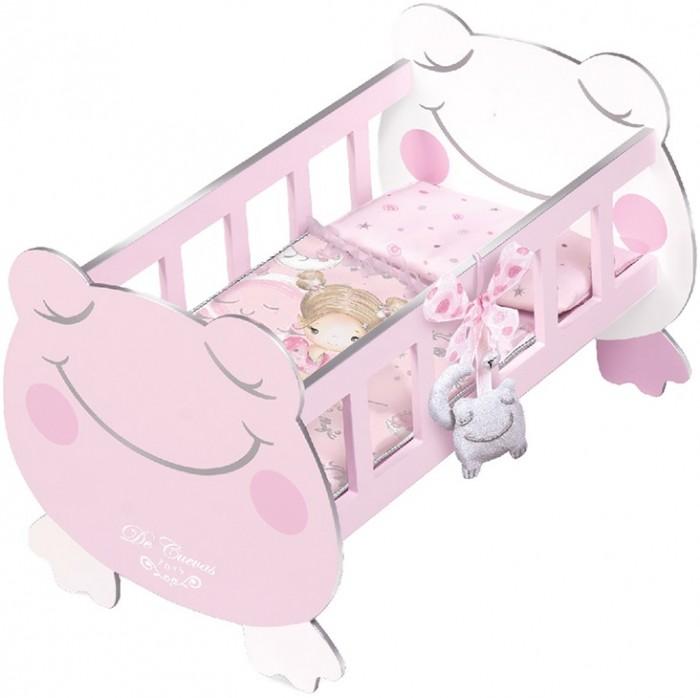 Кроватка для куклы DeCuevas с аксессуарами Мария 49.5 см