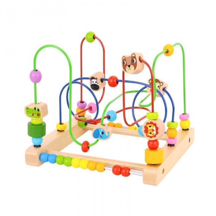 Деревянная игрушка Tooky Toy Лабиринт Лес