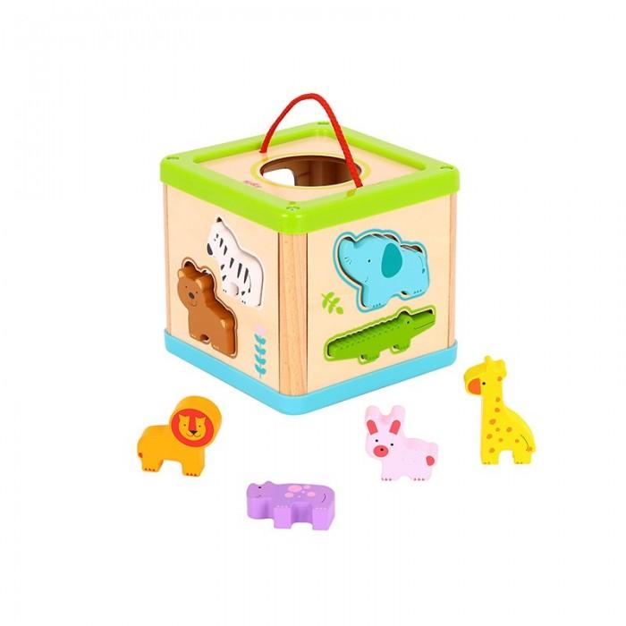 Деревянная игрушка Tooky Toy Лондонский автобус TL152A