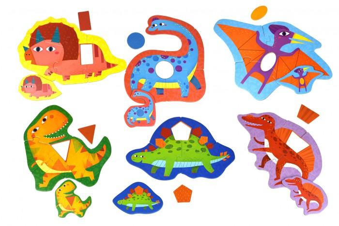 Tooky Toy Первый пазл Динозавры