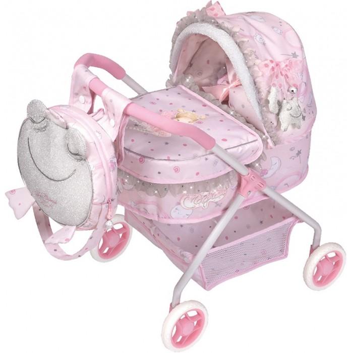 Коляска для куклы DeCuevas трансформер с сумкой Скай 90 см 3 в 1