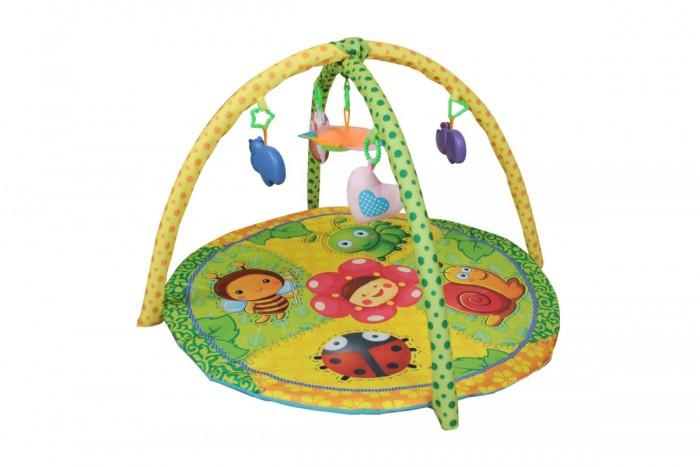 Развивающий коврик Alis c игрушками и зеркалом Букашки