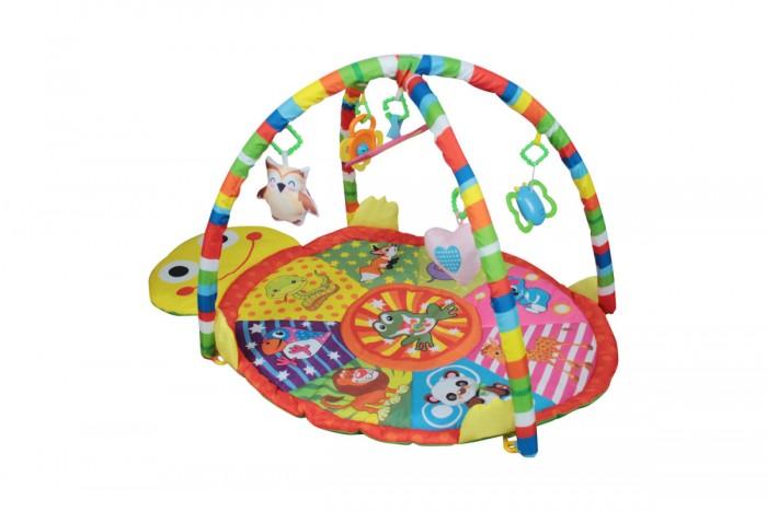 Развивающий коврик Alis c игрушками и зеркалом Летняя полянка