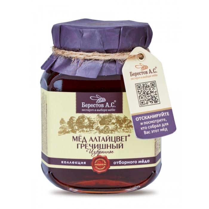 Мед, варенье, сиропы Берестов А.С. Мед натуральный Алтайцвет Гречишный 500 г луговица мед натуральный гречишный 250 г