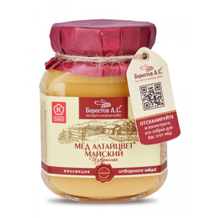 Мед, варенье, сиропы Берестов А.С. Мед натуральный Алтайцвет Майский 500 г недорого