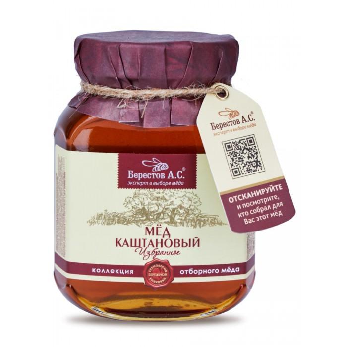 Мед, варенье, сиропы Берестов А.С. Мед натуральный полифлорный Каштановый 500 г