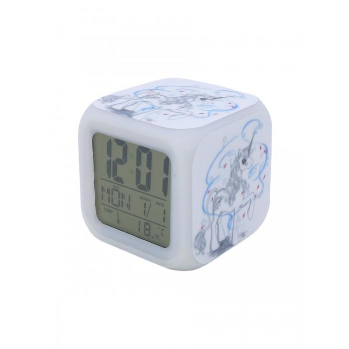 Часы Mihi Mihi Будильник Единорог с подсветкой №1