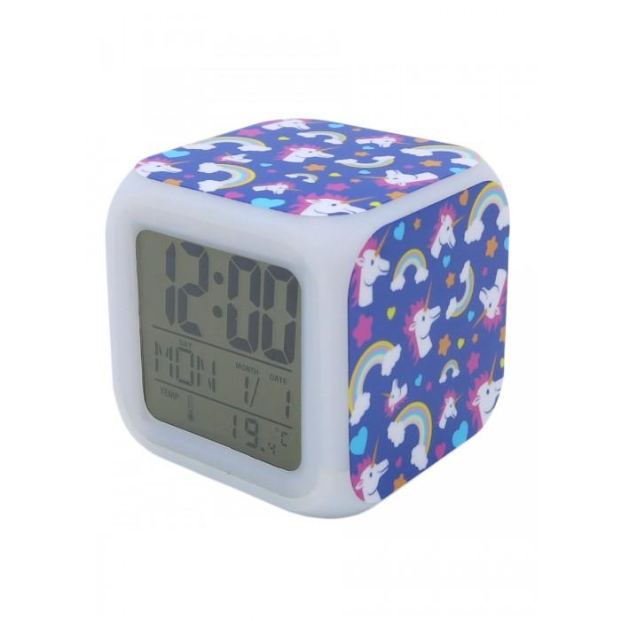 Картинка для Часы Mihi Mihi Будильник Единорог с подсветкой №11