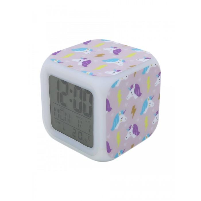 Картинка для Часы Mihi Mihi Будильник Единорог с подсветкой №12