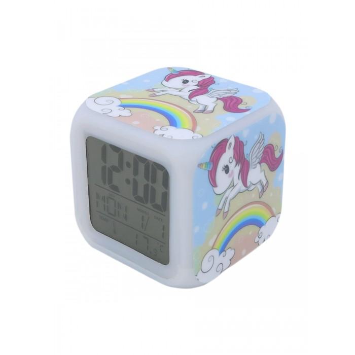 Картинка для Часы Mihi Mihi Будильник Единорог с подсветкой №13