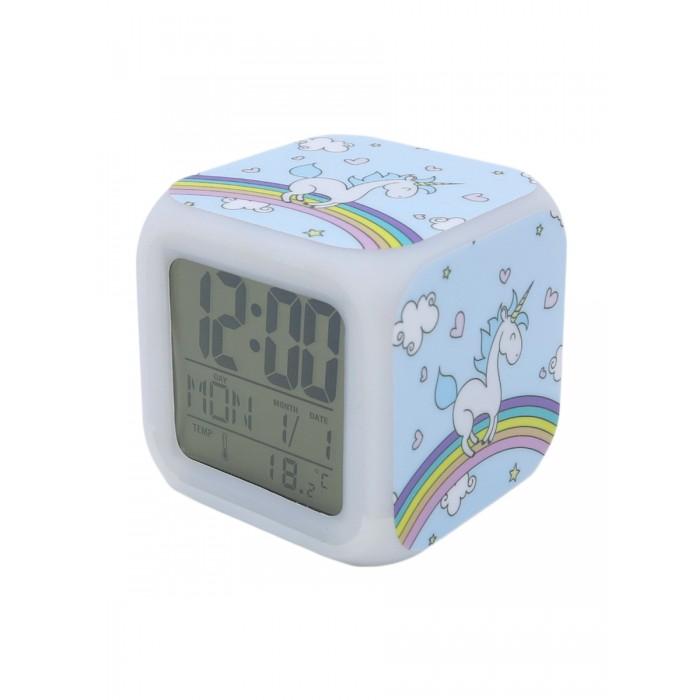 Картинка для Часы Mihi Mihi Будильник Единорог с подсветкой №18