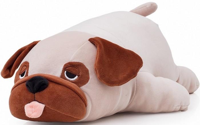 Купить Мягкие игрушки, Мягкая игрушка СмолТойс Мопс 47 см