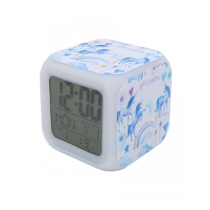 Картинка для Часы Mihi Mihi Будильник Единорог с подсветкой №19