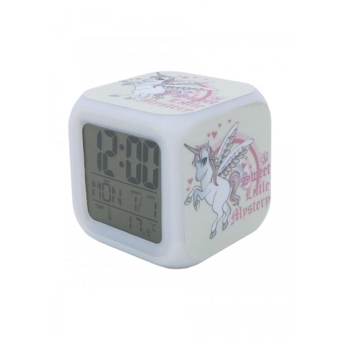 Картинка для Часы Mihi Mihi Будильник Единорог с подсветкой №2