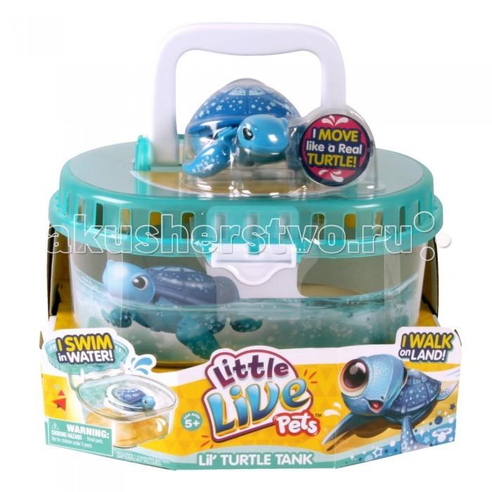 Little live Pets Черепашка в аквариуме от Акушерство
