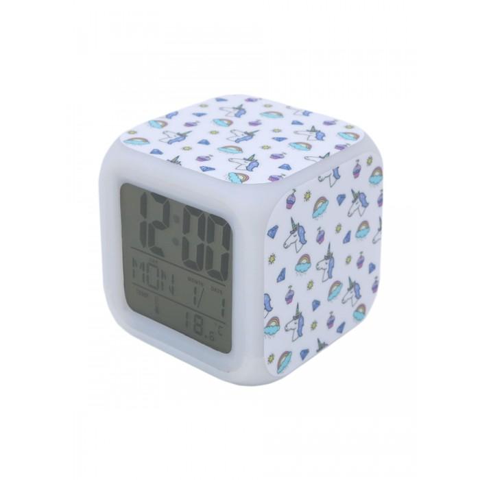 Часы Mihi Mihi Будильник Единорог с подсветкой №18