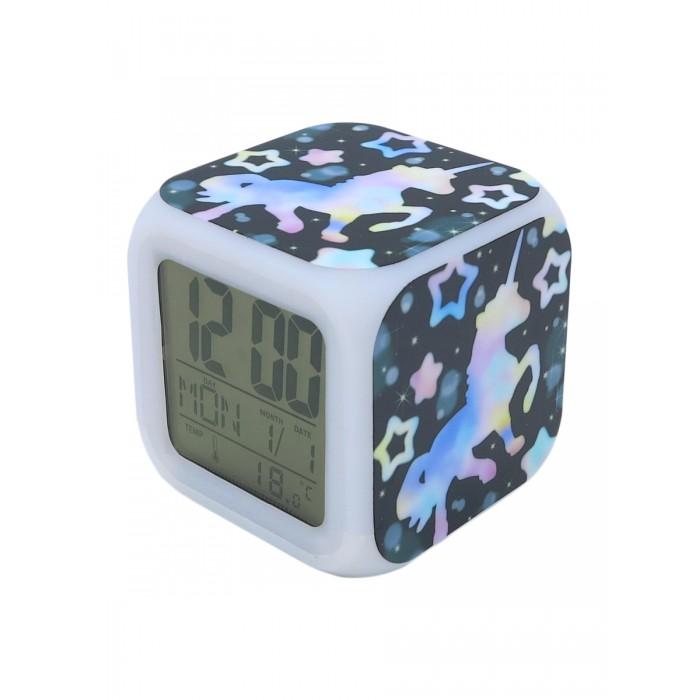 Картинка для Часы Mihi Mihi Будильник Единорог с подсветкой №22