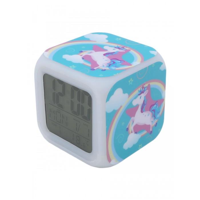 Картинка для Часы Mihi Mihi Будильник Единорог с подсветкой №4