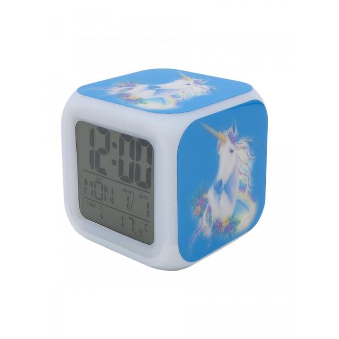 Картинка для Часы Mihi Mihi Будильник Единорог с подсветкой №7