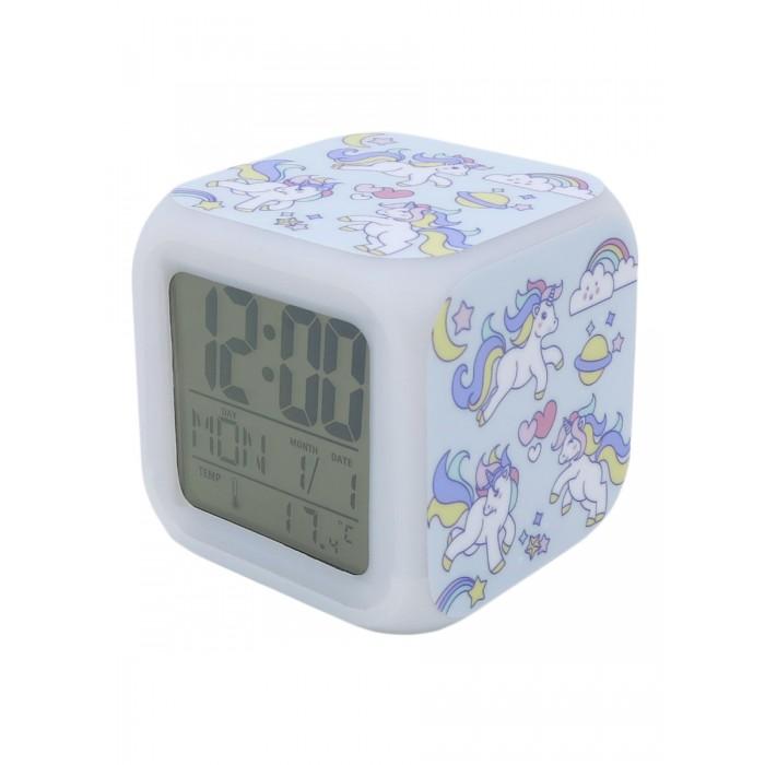 Часы Mihi Mihi Будильник Единорог с подсветкой №13