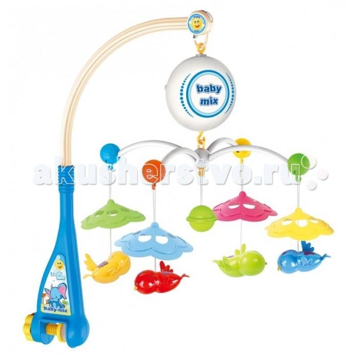 Мобиль Baby Mix Птички с зонтиками