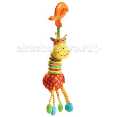 Подвесная игрушка Tiny Love Развивающая Жираф Сэм вибрирующая