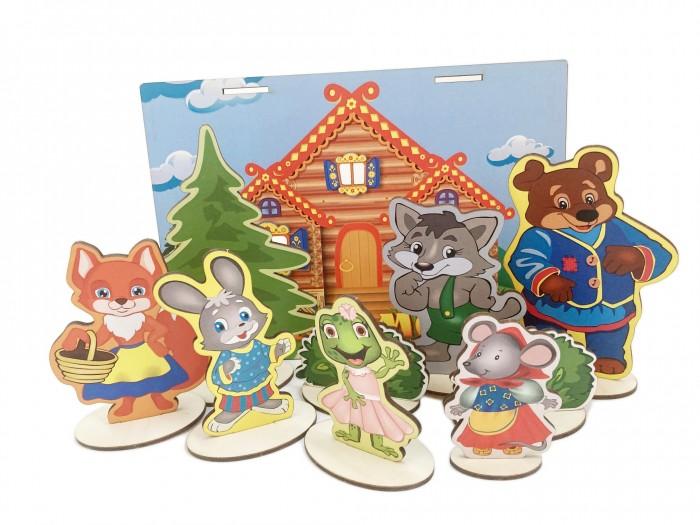 Купить Деревянные игрушки, Деревянная игрушка Сибирские игрушки Театр Теремок